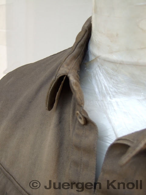 WWII Russen Uniform Hemd Detail